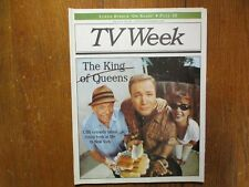8/1999 Cleveland Plain Dealer TV Mag(THE KING OF QUEENS/KEVIN JAMES/LEAH REMINI