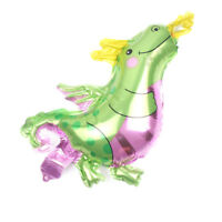 5pcs Mini Fire Dragon Foil Balloons Birthday Party Decor Kids Toys Dinosaur HC