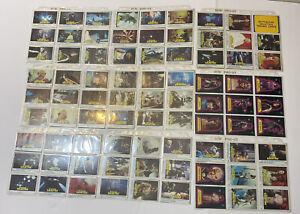 Battlestar Galactica 1978 (155 cards) super rare set stickers lot excellent cond
