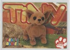1999 Ty Beanie Babies Series 4 #248 Tiny the Chihuahua Non-Sports Card 0b0