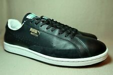 In buonissima condizione PUMA SUEDE S Uomo Nero Bianco in Pelle scamosciata Sneaker UK 13/EU Taglia 48.5