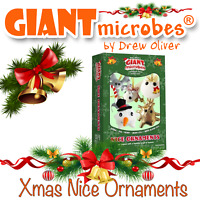 Giant Microbes *NEW RELEASE* 2020 Nice Christmas Ornaments Themed Gift Box Xmas