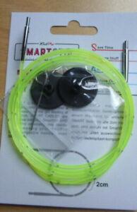 Knit pro  - Smartstix  Seile - mit eigener Messskala