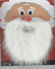 Santa Claus Father Christmas White Beard Fancy Dress Accessory