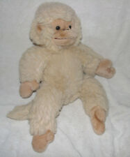 "RUSS MUNGO STUFFED PLUSH MONKEY APE GORILLA CHIMP BEIGE TAN 11"" 15"""