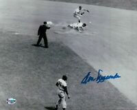 Don Newcombe Signed 8X10 Photo Autograph Dodgers Play at 2nd Auto COA