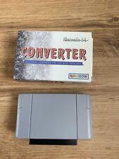 N64 Universal Games Converter Adaptor Adapter Boxed - play NTSC games on PAL N64