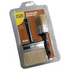 FFJ Wood Care Paint Set 4 Piece Woodstains Pure Varnish Block Treatment(FBWD005)