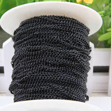 5m Open Link Iron Cable Findings Metal Antique Chain For Necklace Jewelry DIY