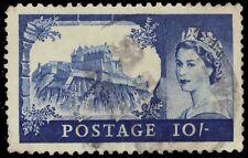 "GREAT BRITAIN 311 (SG538) - Edinburgh Castle, Scotland ""1955 Printing"" (pf84662)"