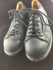 Dr Martens Womans Shoes  Size  7 Black  Leather With Laces