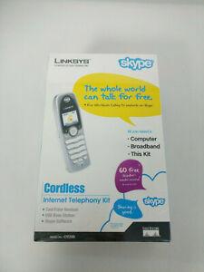 LINKSYS SKYPE  CORDLESS INTERNET TELEPHONY KIT CIT200