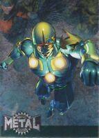 2015 Marvel Fleer Retro 1995 Marvel Metal Blaster Insert Card #28 Nova