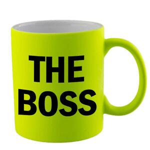 The Boss Mug Office Work Xmas Birthday Gift Idea Present