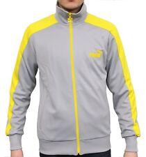 PUMA Mens LS Slim Eagle Point Tracksuit Jacket Sweatshirt Top CLEARANCE SALE