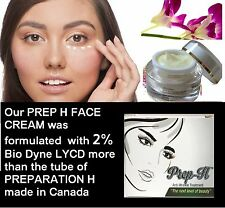 Cream PREP H  2% Bio-Dyne LYCD more than PREPARATION H Canadian tube