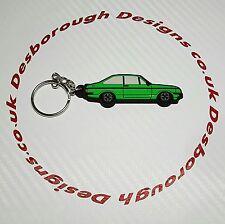 Ford MK2 Escort Rs 2000 Key Ring Signal Green