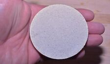 """Ray's Reef - 60 Coral Frag XXL Disk / Disc Plug 3"""" Made with Aragonite Sand"""