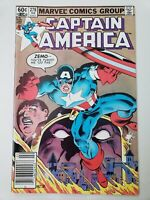 CAPTAIN AMERICA #278 (1982) BARON ZEMO! MIKE ZECK COVER & ART! FALCON! NEWSSTAND