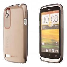 HTC Desire X Silicon TPU Phone Case Cover Black