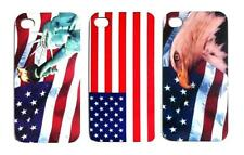 American Flag Design Hard Snap-on Back Case Cover for iPhone 4/4s