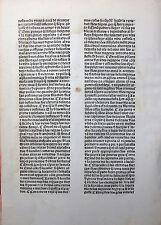 PLUTARCH VITAE ILLUSTRIUM INKUNABEL BLATT SEVILLE COMPANEROS ALEMANES 1491