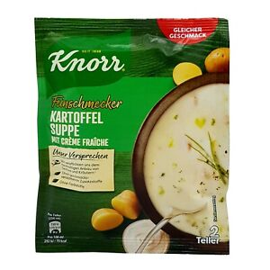 5x Knorr 🍲 Kartoffelsuppe potato soup with cream fraiche ✈TRACKED SHIPPING
