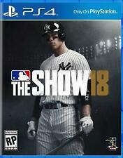 MLB 18 The Show Ps4 Game