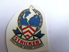 Stricker Schriftzug Wasserabziehbild Abziehbild 46981s Automobilia 42x57 Mm Silber-rot-weiß