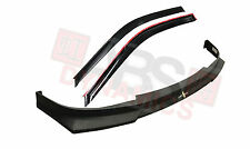 1999 -00 Honda Civic 2/3DR Hc1 Front Lip ABS Plastic + Carbon print Window Visor