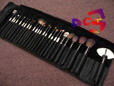 25 pcs Professional MakeUp Brushes - Goat, Pony, Sable & Squirrel Hair Brush Set