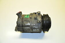 SAAB 93 9-3 2004 2.0 PETROL AC A/C AIR CONDITIONING COMPRESSOR PUMP 24411280