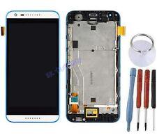 ECRAN LCD + VITRE TACTILE SUR CHASSIS BLOC COMPLETE POUR HTC DESIRE 620 BLANC