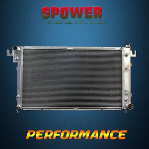 2-Row/Core Aluminum Radiator For Dodge Ram 1500 2500 3500 3.9L 5.2L 5.9L 94-01