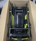 RYOBI 20 inch 40V Cordless Self Propelled Lawn Push Mower W/ BAG  Tool Only