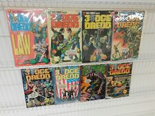 Judge Dredd #1-8 from Eagle Comics in Gorgeous NM-/NM Avg Condition!!