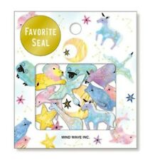 70pcs Cute Kawaii Diary Stickers Unicorns Fantasy Moon Stars Stationery Sticker