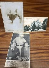 vintage family photo postcard franklin stamp portrait prestige J L Hand Callaway