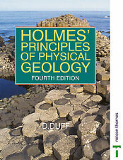 Holmes' Principles of Physical Geology, Good Condition Book, Arthur Holmes, ISBN