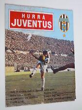 HURRA JUVENTUS # N°1  1966 # DE SOL  # MILAN  # CAGLIARI # INTER