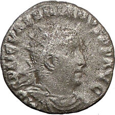 VALERIAN I 253AD Ancient RARE SILVER Roman Coin Liberalitas Cult Wealth  i21585