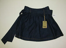 Denim Mini Skirt TYLERSKYE Women's High Rise Blue  Junior Size 26 Waist