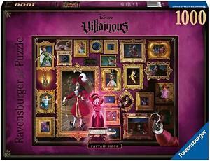Ravensburger Jigsaw Puzzle Disney Villainous Captain Hook 1000 Pieces Jigsaw Puz