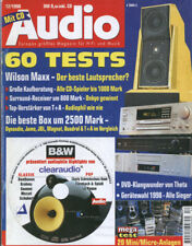 Audio 12/98.JBL Ti 600, Sony CDP-XA 20,T+A TAL 110,Theta DaVid +,Cello Encore