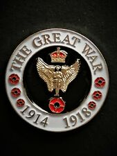 The Great War Angel Soldier 100 Year Centenary Colours Lapel Pin