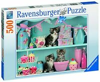 Ravensburger Jigsaw Puzzle KITTENS and CUPCAKES - 500 Piece