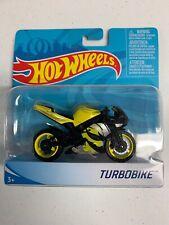 HOT WHEELS MOTORCYCLE Turbobike Yellow RARE!!