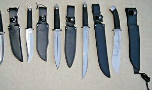 Cold Steel tanto clone Honshu Tanto  Fighter  Lot of 5  knifes Awesome