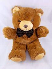 "America Wego Brown Bear Plush 13"" w/ Bow Tie Vintage"