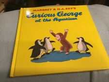 Curious George At The Aquarium by Margaret & H.A. Rey Hardcover Book 2008